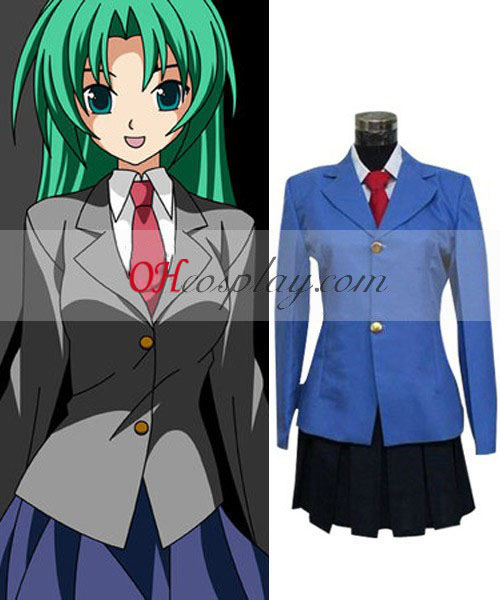When They Cry Sonozaki Mion School Uniform Cosplay Costume