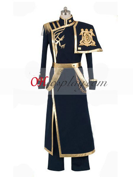 07-GHOST Ayanami Império Barsburg uniforme Traje Cosplay [HC13050]