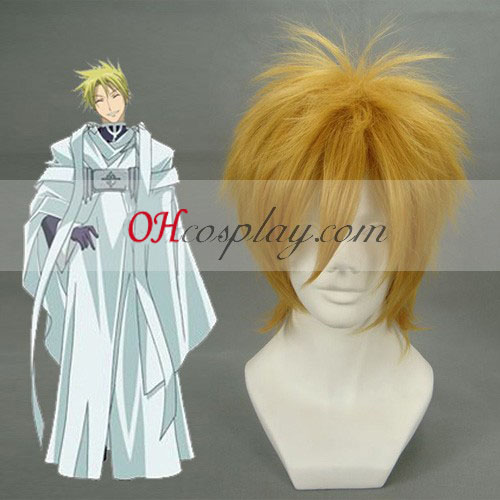 07-GHOST Frau Birkin Brown Cosplay Wig