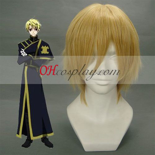 07-CHOST KONATSU·WALLEN Light Brown Cosplay Wig