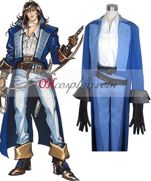 Castlevania Richter Belmont Costume Carnaval Cosplay