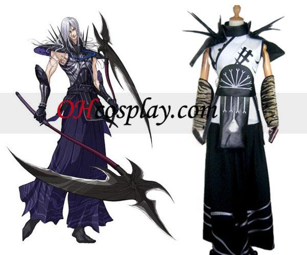 Sengoku Basara 2 Akechi Mitsuhide udklædning Kostume
