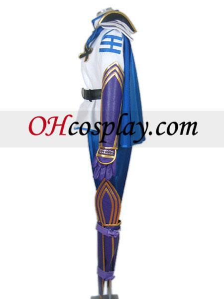 Sengoku Basara Sanguko Basara II Takenaka Hanbei Cosplay костюм
