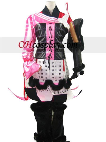 Дяволът царе Sanguko Basara 2 Oichi Cosplay костюм