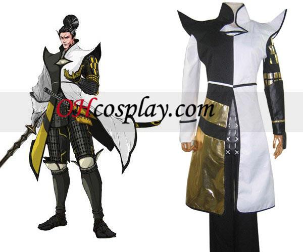 Devil Kings Sanguko Basara 2 Matsunaga Hisahide udklædning Kostume