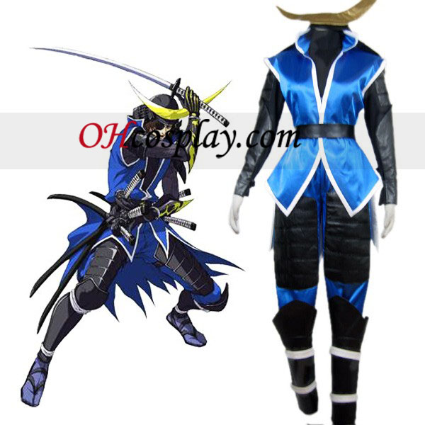 Devil Kings Sanguko Basara II Date Masamune Cosplay Costume