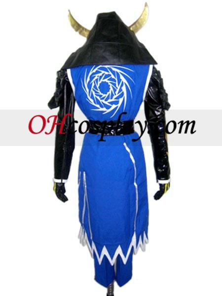 Дяволът царе Sanguko Basara II датата Masamune Cosplay костюм
