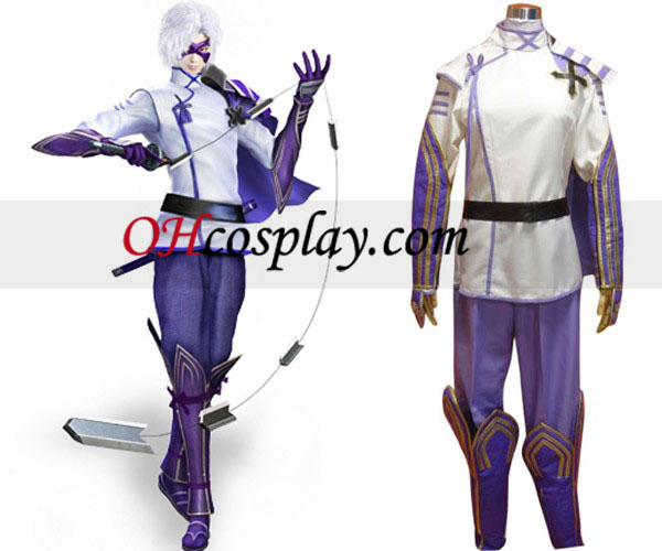 Devil Kings 2 Takenaka Shigeharu Cosplay Costume