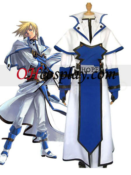 Guilty Gear Ky Kiske Halloween Cosplay Kostuum
