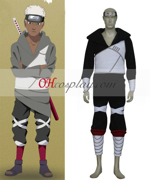Naruto Shippuuden Team Cloud Omoi Cosplay Costume