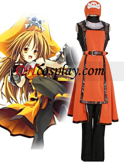 Guilty Gear Jellyfish Pirate May Cosplay Costume Australia