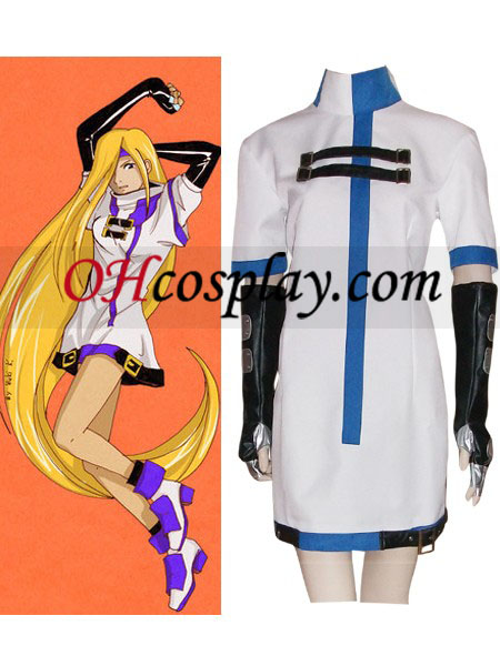 Guilty Gear Millia Rage Cosplay kostyme