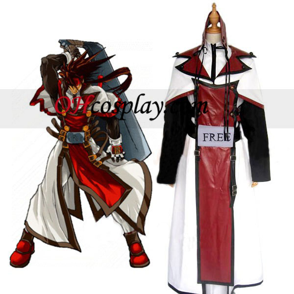 Guilty Gear Fim Sol Traje Cosplay