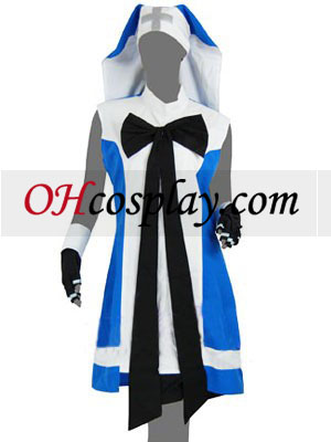 Guilty Gear Brígida Cosplay Traje Azul