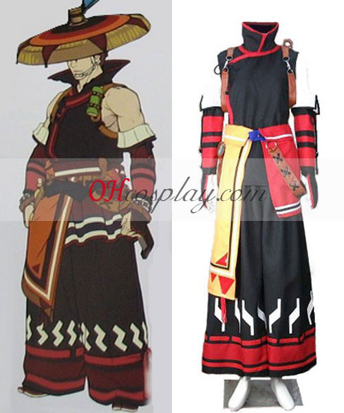 Monster Hunter 3RD Yukumo Armor Cosplay kostyme