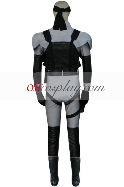 Metal Gear Solid 2 Twin Snake Grey Cosplay Costume