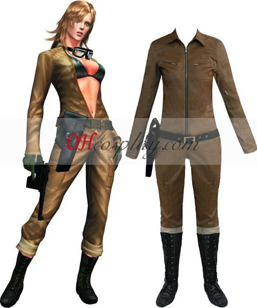 Metal Gear Solid 3 Eva Costume Carnaval Cosplay