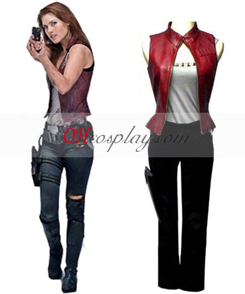 Resident Evil 3 afterlife Claire Cosplay Costume