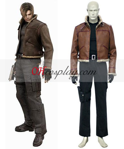 Resident Evil 4 Game Leon Scott Kennedy Cosplay Kostuum