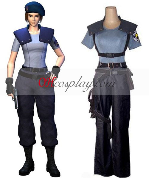 Resident Evil Jill Valentine Costume Carnaval Cosplay