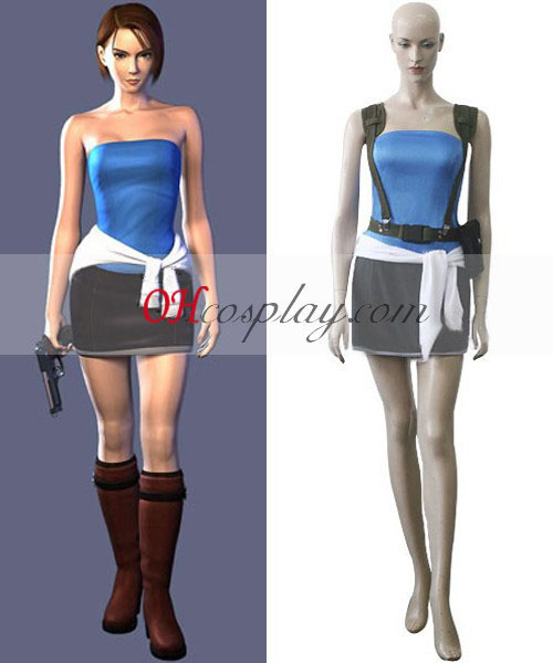 Resident Evil Game Jill Valentine Cosplay Costume