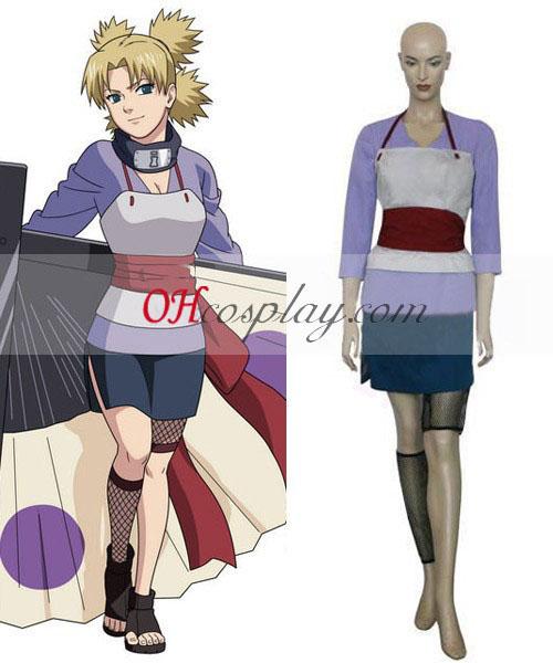 2. Naruto Temari Cosplay kostumov