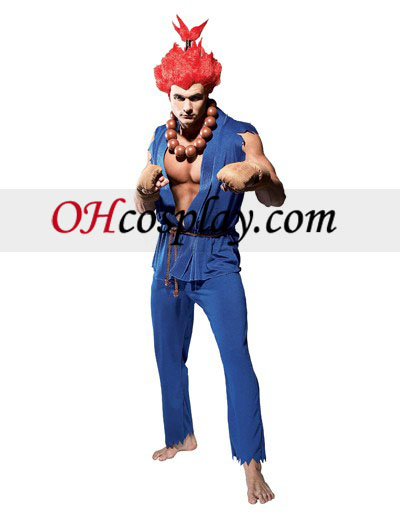 Street Fighter Akuma Adulto fantasia