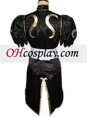 Street Fighter Chun Li black udklædning Kostume