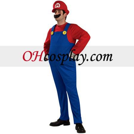 Супер Марио Bros Луиджи Марио възрастни костюм