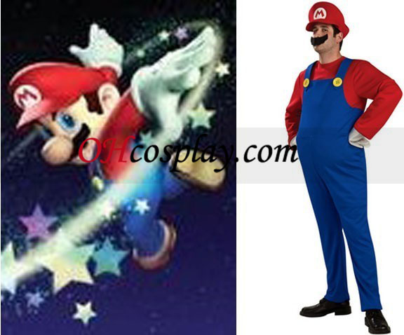 Super Mario Bros Mario Adulto fantasia