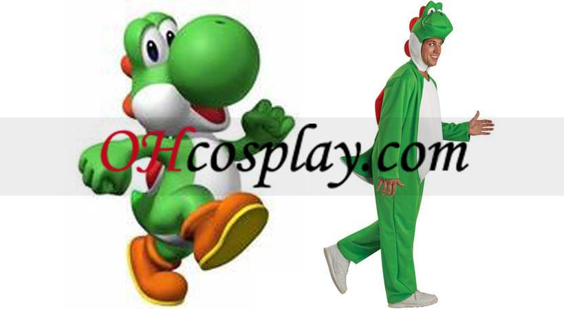Super Mario Bros Yoshi Vuxen Kostym