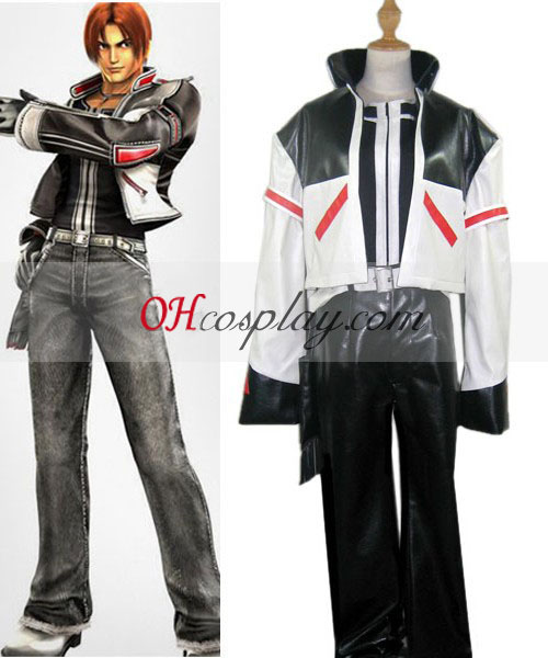 The King of Fighters' 03 Kyo Kusanagi Costumi Carnevale Cosplay
