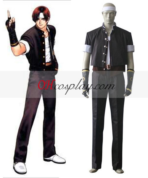 The King of Fighters' 97 Kyo Kusanagi Costumi Carnevale Cosplay