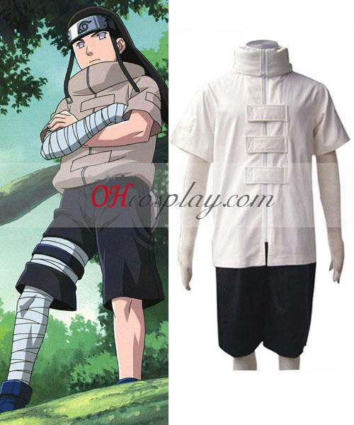 Naruto Neji Chunin Exam 1st Cosplay Costume