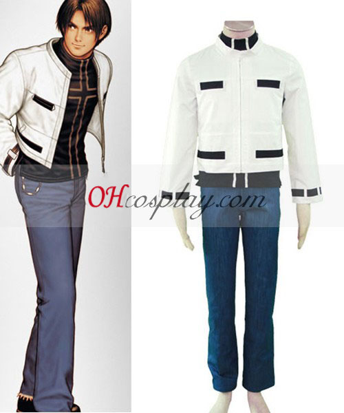The King because of your called associated with middle Fighters' 98 Kyo Kusanagi Cosplay Costume