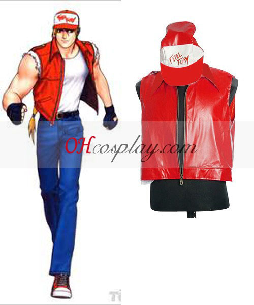 "The King of Fighters"" Terry Costumi Carnevale Cosplay"