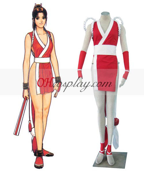 "The King of Fighters ""Mai Shiranui Cosplay Kostym"