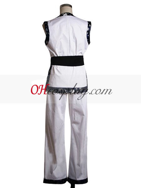 The King could also making it possible for Fighters\' Kim Kaphwan White Cosplay Costume