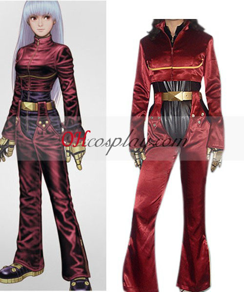 The King from Fighters' 98 Kula Diamond Cosplay Costume
