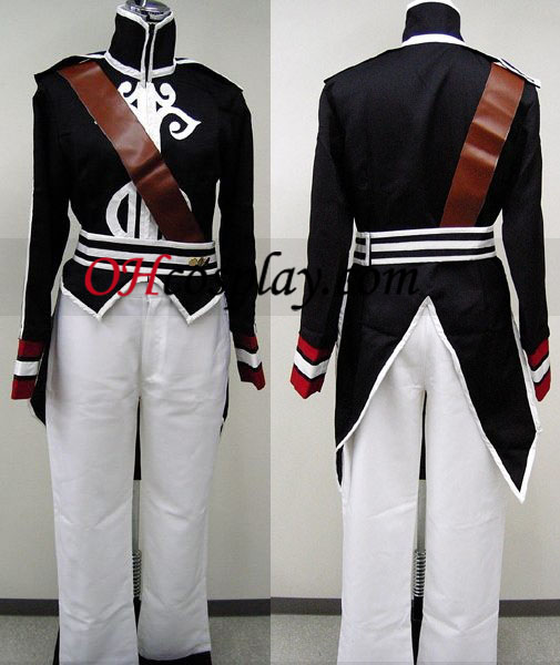 Luke Black Cosplay Kostym från Tales of the Abyss