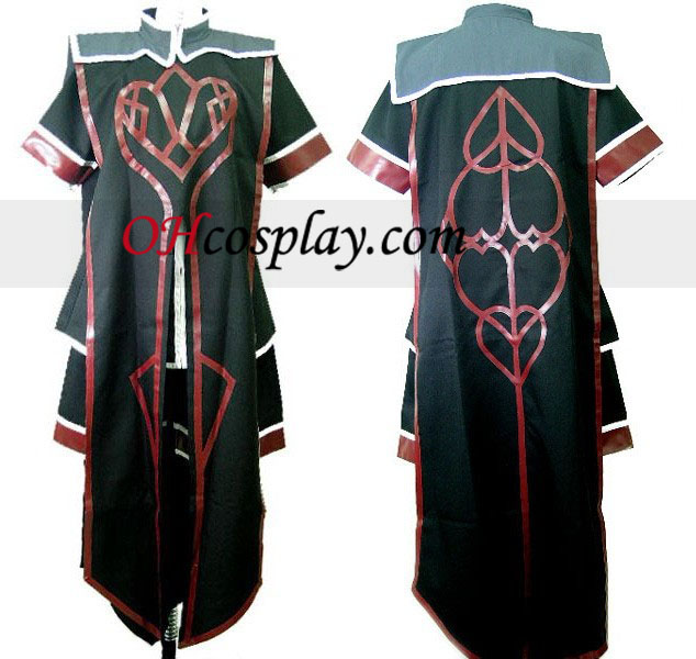 Asch Costume Carnaval Cosplay de Tales of the Abyss