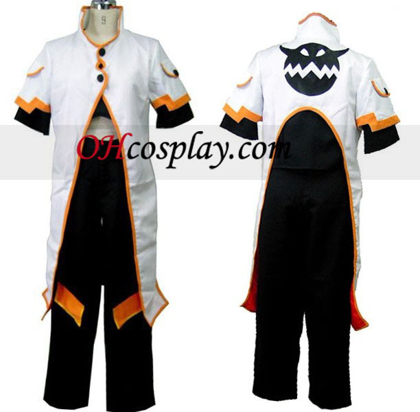 Luke Cosplay Kostym från Tales of the Abyss
