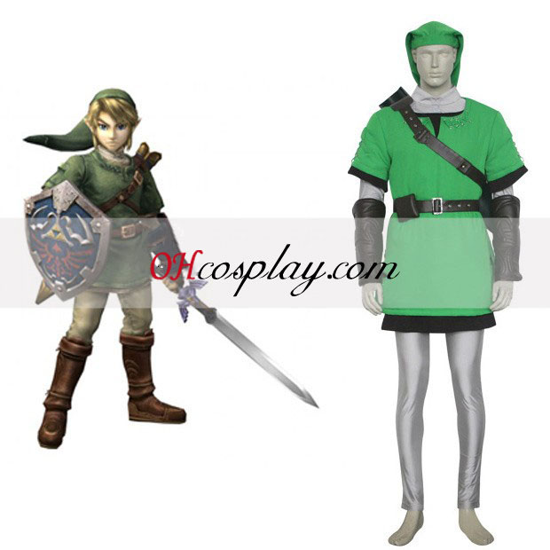 The Legend of Zelda Link Deluxe Cosplay Kostym