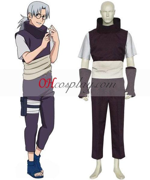 Naruto Yakushi Kabuto Cosplay Kostüme Kostüm