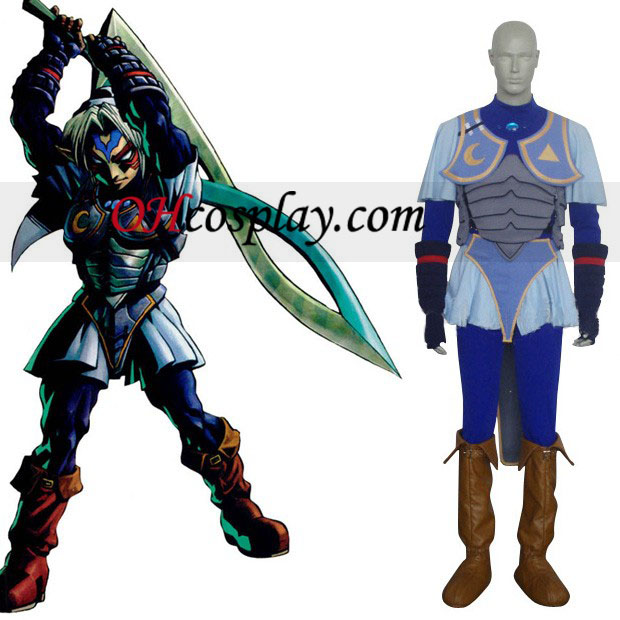 The Legend of Zelda Oni Link Cosplay Costume
