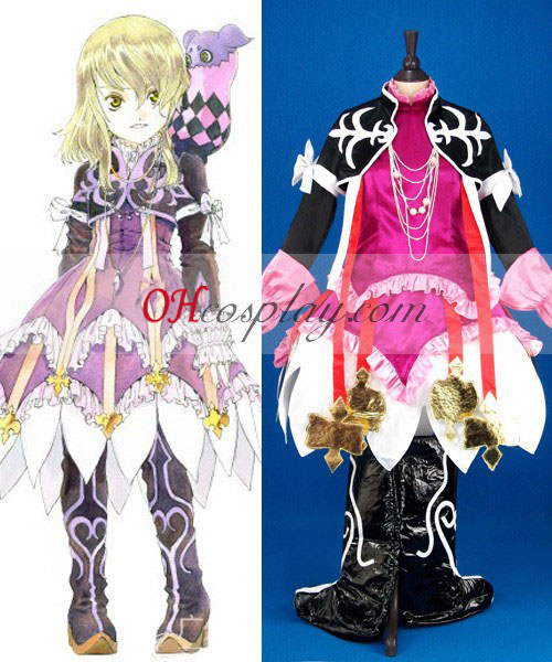 Tales installation for Xillia Elise Lutus Cosplay Costume
