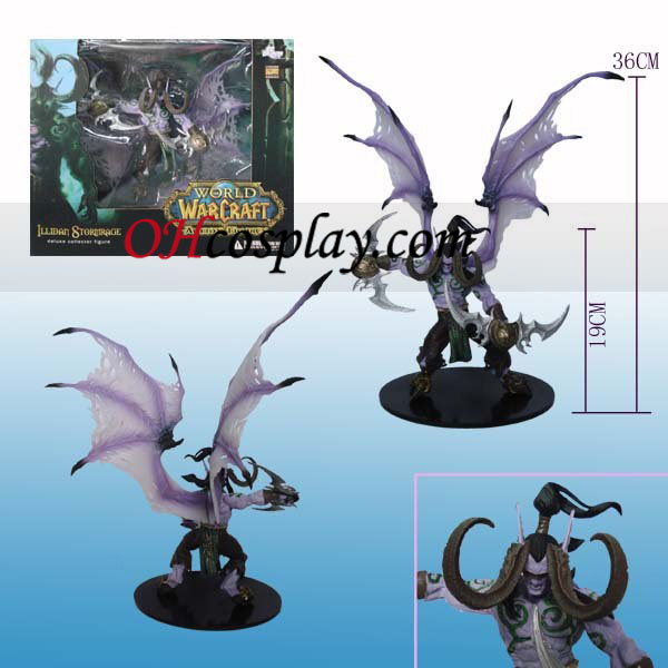 World of Warcraft DC ilimitado Series 1 Deluxe Boxed figura de acción de Illidan Stormrage