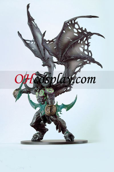 World installation for Warcraft DC Unlimited Series 5 Deluxe Action Figure Illidan Stormrage
