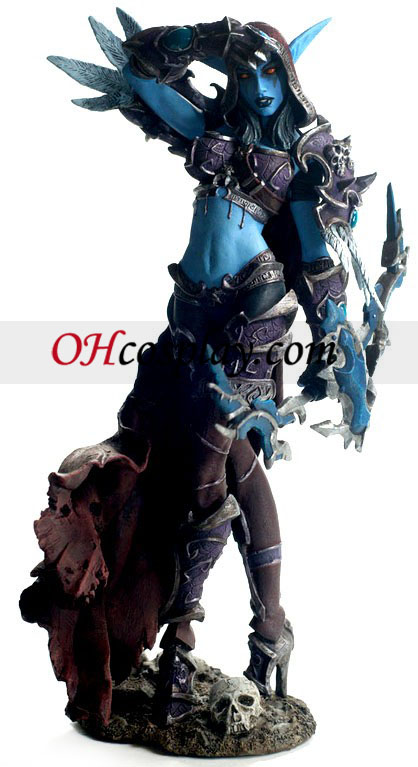 World of Warcraft DC Ubegrænset serie 6 Action Figure Lady Sylvanas Windrunner - Forsaken dronning