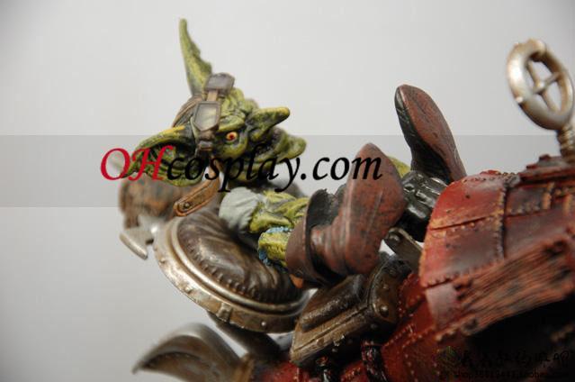 World of Warcraft DC Ubegrænset serie 6 Action Figure Gibzz Sparklighter [Goblin Tinker]
